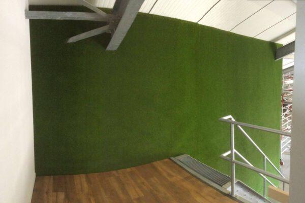 Kunstrasen Referenz Beispiel Aussenwand Fassade Rimann Fulda