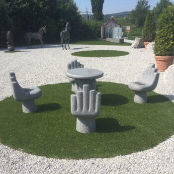 Kunstrasen Referenz Beispiel Garten Rimann Fulda