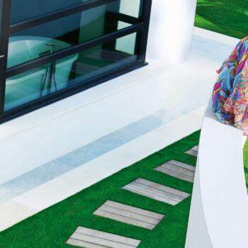 Royal Grass Kunstrasen Garten Terrasse Beispiel