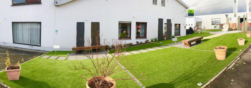 Unser Kunstrasen-Schaugarten in Fulda